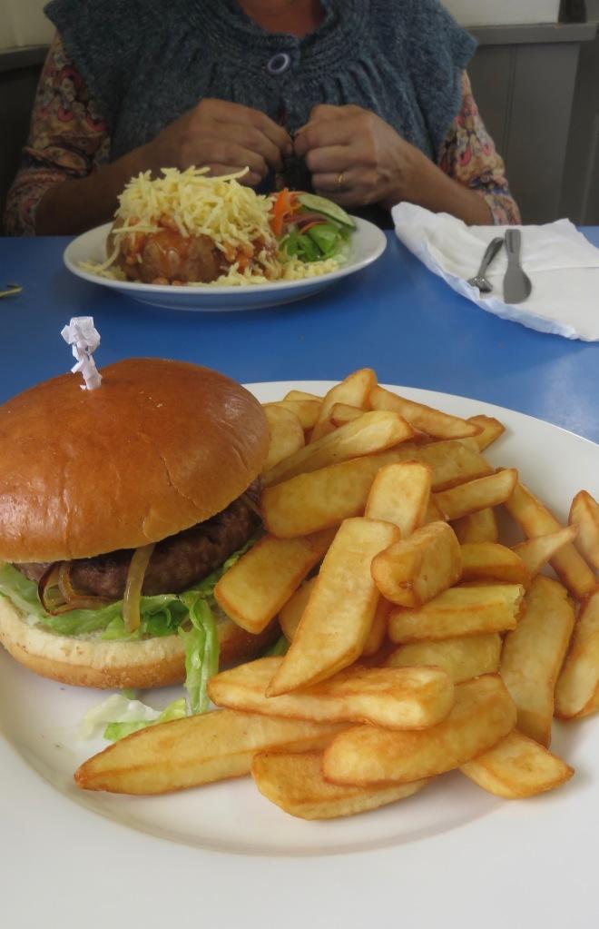 Pulled pork burger 1