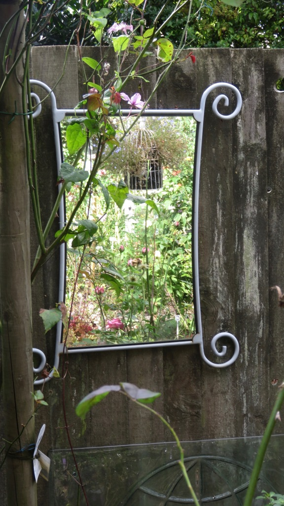 Mirror in Rose Garden