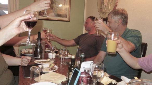 Toast featuring Poppy, Matthew, Ian, etc.