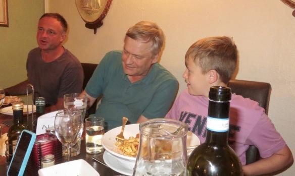 Matthew, Ian, and Louis