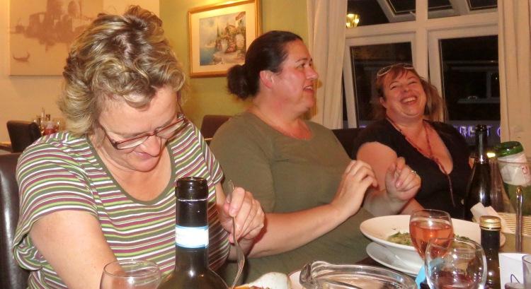 Naomi, Becky, Tess