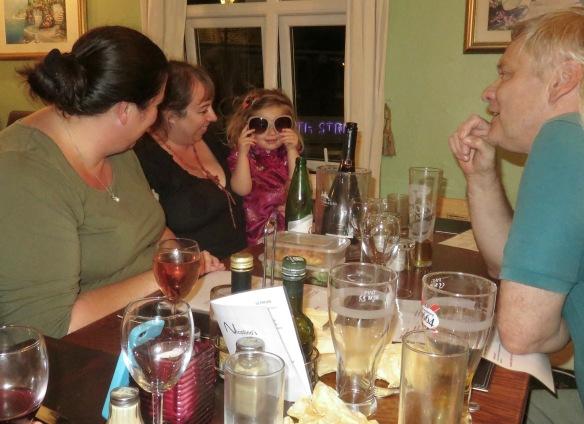 Becky, Tess, Poppy, Ian