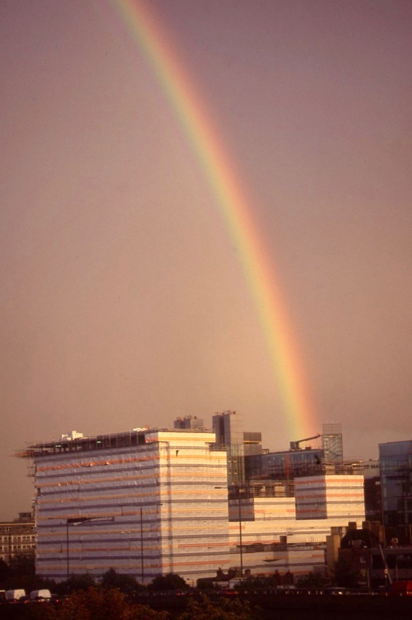 Rainbow over Paddington Basin 10.04 1