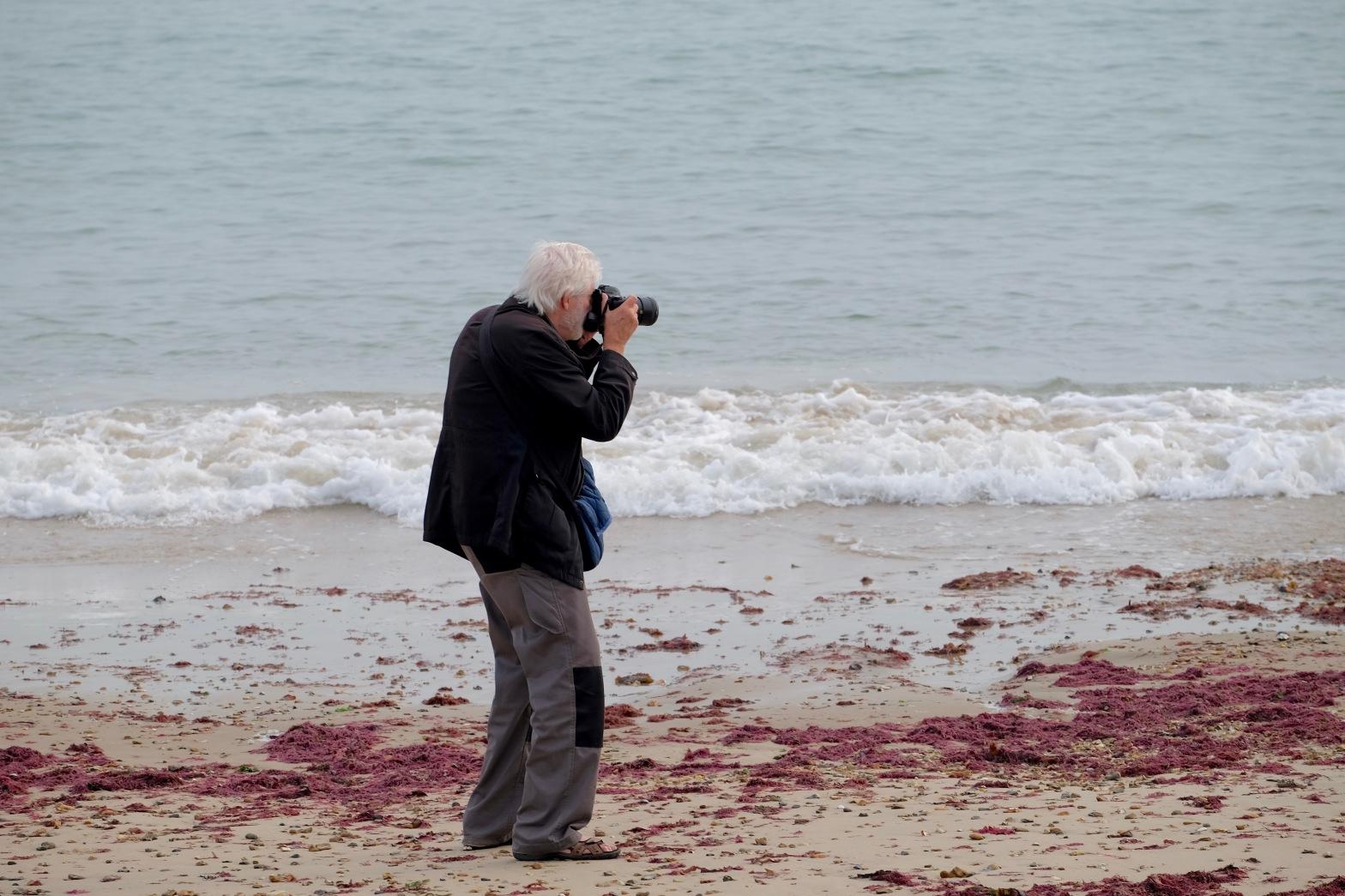 Derrick Photographing