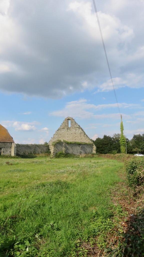 St Leonard's Barn ruin 1