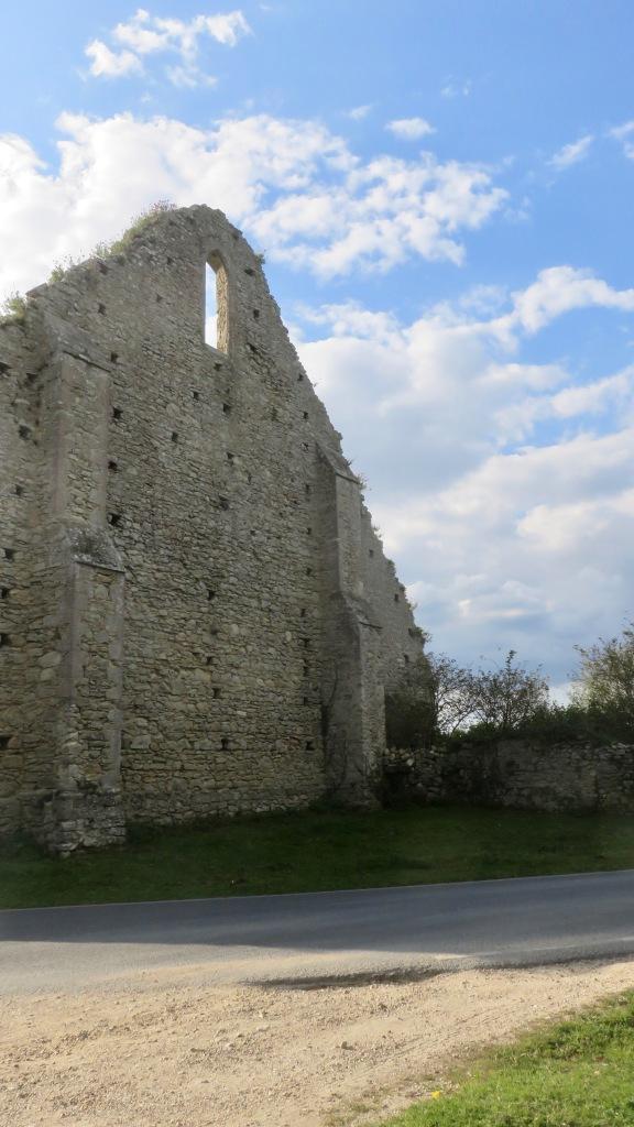 St Leonard's Barn ruin 2