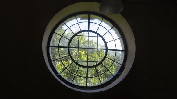 Window in Organ Loft
