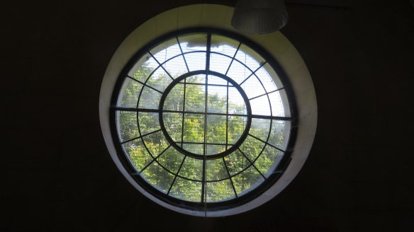 Window in Organ Loft