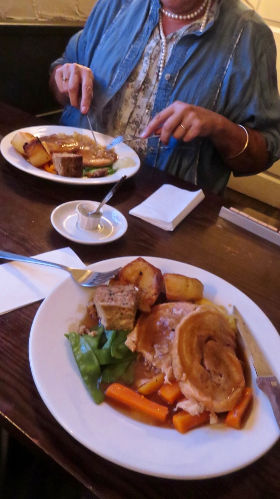 Roast belly of pork meals