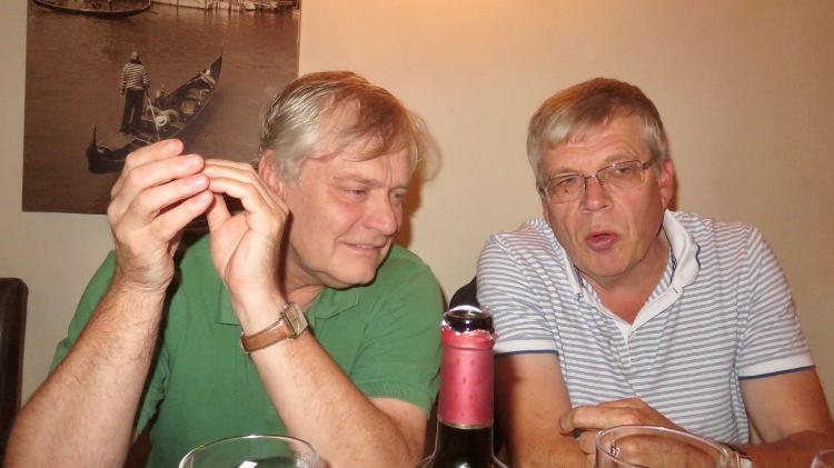 Ian and Keith