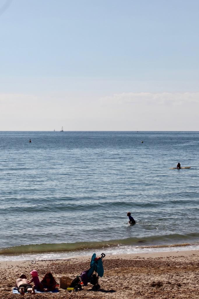Beach scene 7