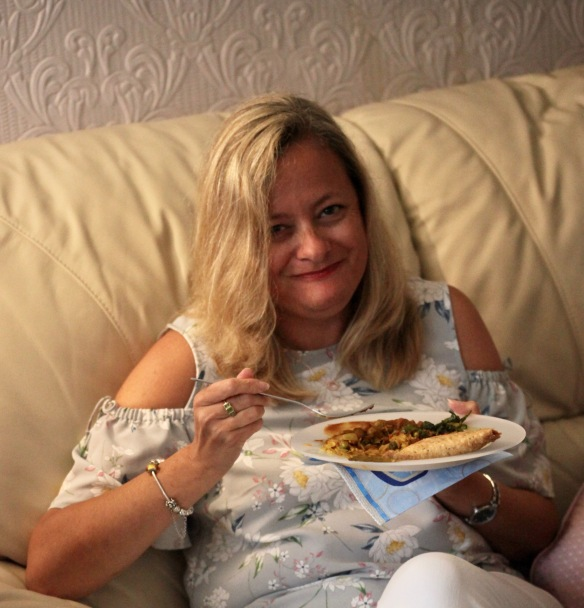 Guest eating jalfrezi 1