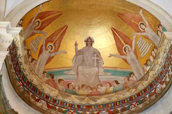 Cupola above altar