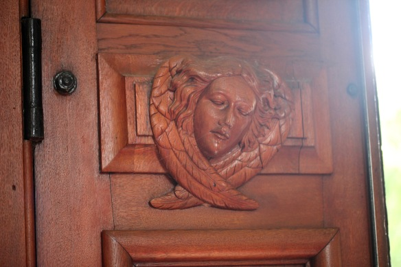 Mary Christine Manners carving