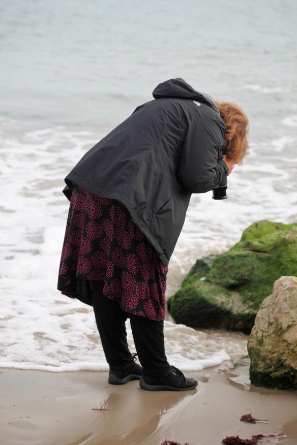 Elizabeth photographing