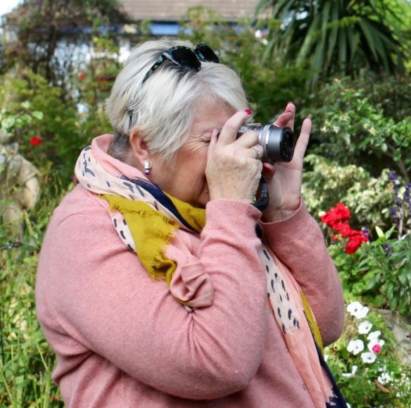 Helen K photographing 5