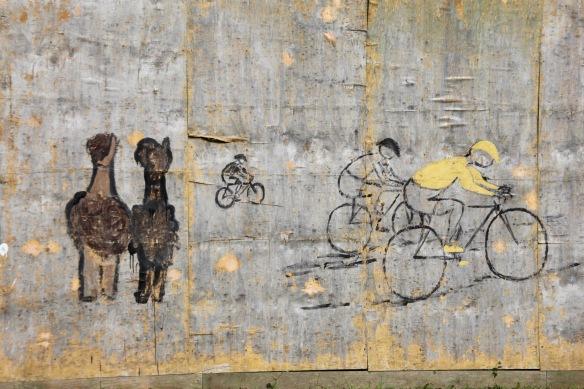 Hoarding mural 1