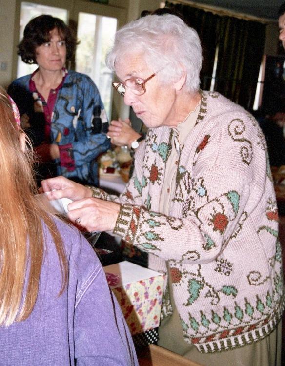 Mum, Elizabeth (Louisa) 4.10.92