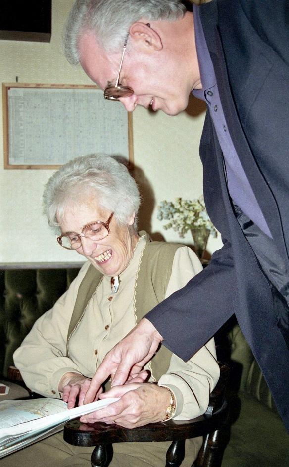 Mum and Chris 4.10.92