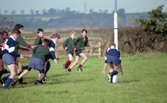 Sam tackled early