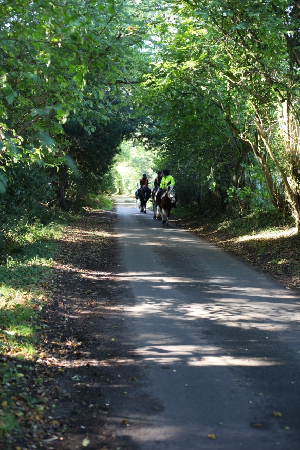 Horse riders on Charles's Lane 2
