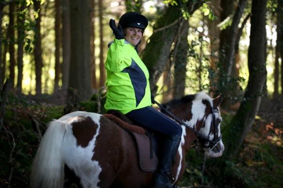 Horse rider on Charles's Lane