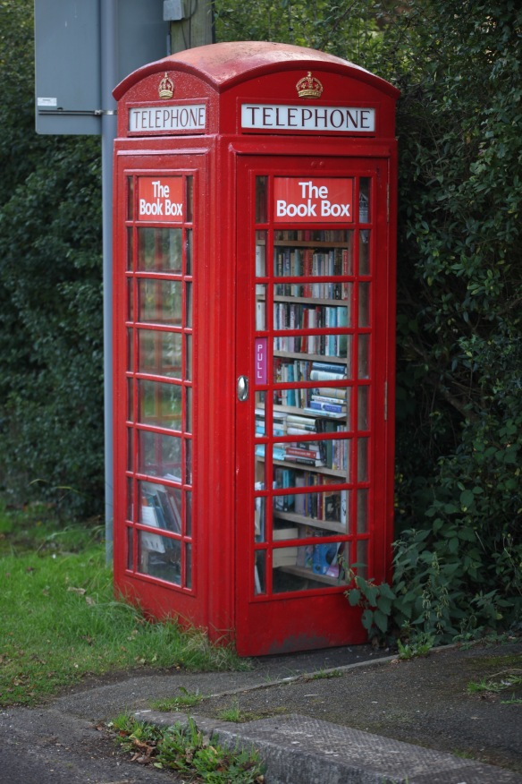 Telephone Box Book Box