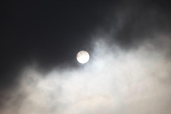 Sun through clouds 1
