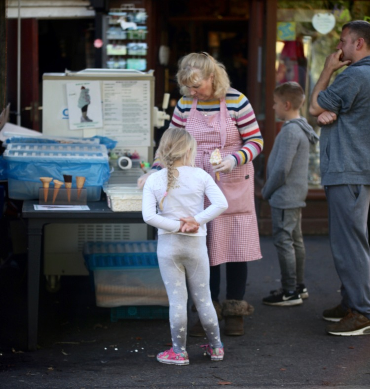Ice cream purchase