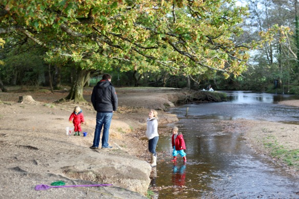 Family at Highland Water 1