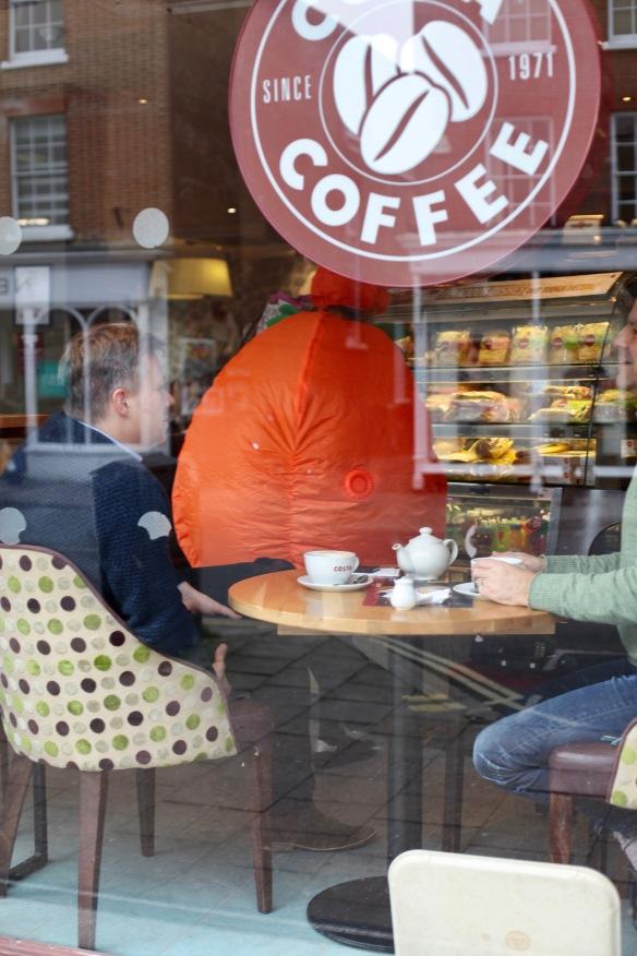 Costa Coffee window