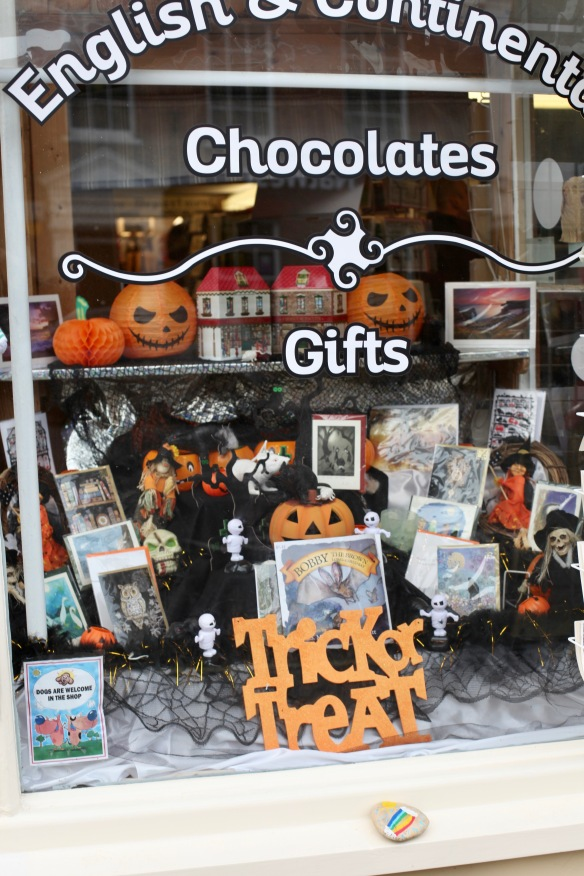 English and Continental Chocolates window