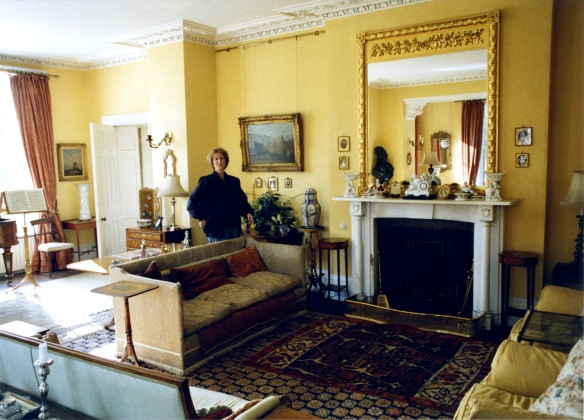 Mary Fry in drawing room 1