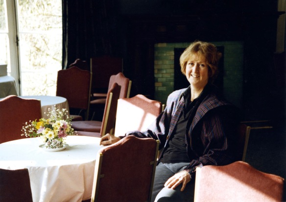 Mary Fry in reception room