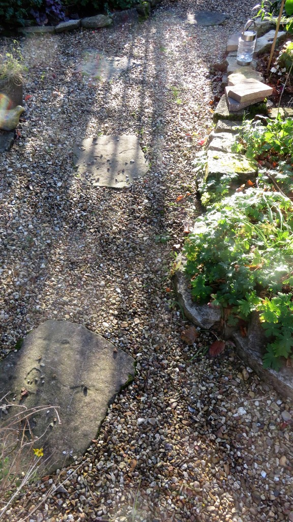 Gazebo path shadow