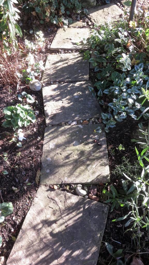 Head Gardener's Walk shadows