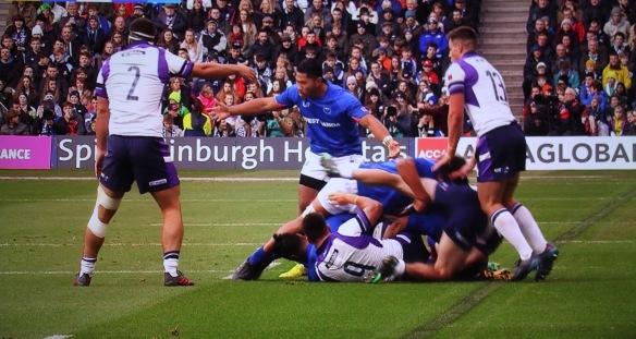 Scotland v Samoa 2