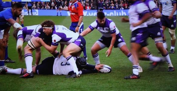 Scotland v Samoa 7