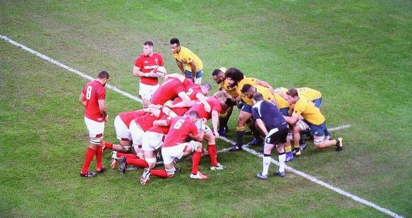 Wales v Australia 6