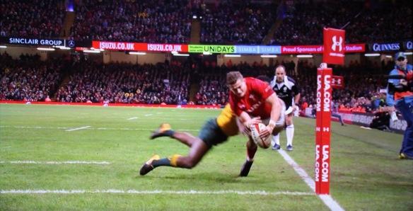 Wales v Australia 11