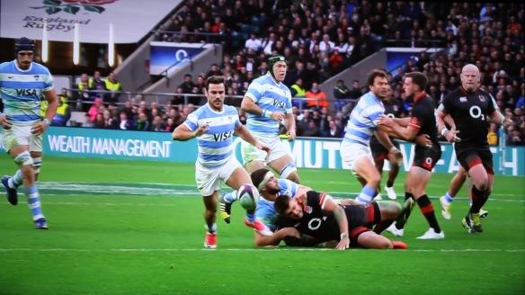 England v Argentina 4