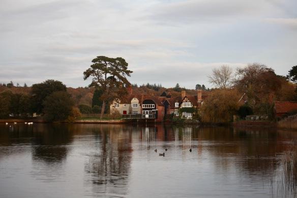 Beaulieu River and houses