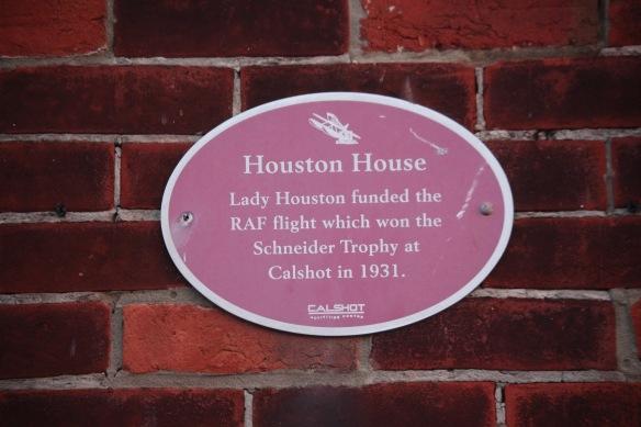 Houston House Plaque
