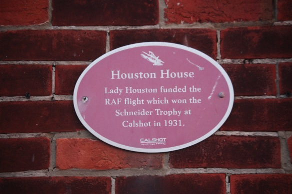 Houston House Plaque