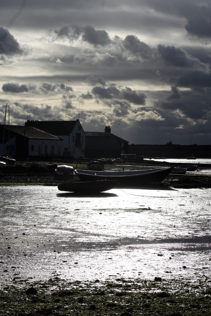 Sky, Mudeford, boat