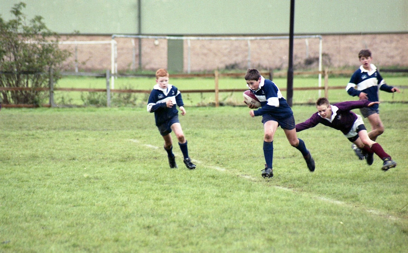 Sam, Newark U13 rugby v Melton 10.92