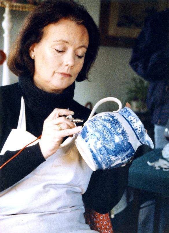 Anna Hackett at work 3