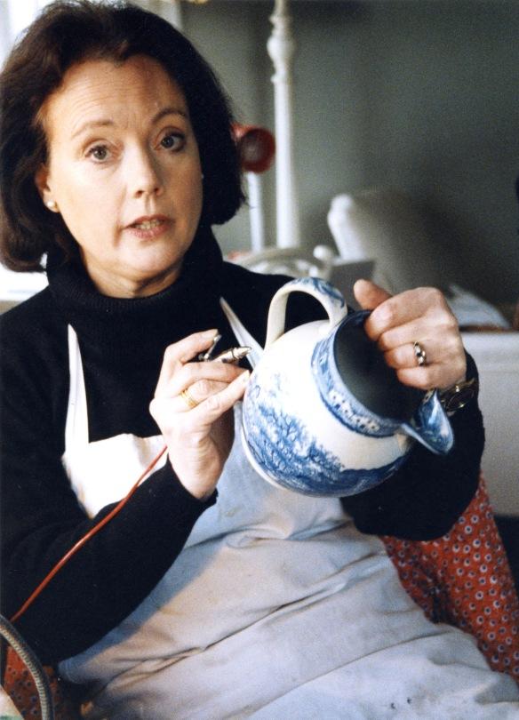 Anna Hackett at work 4
