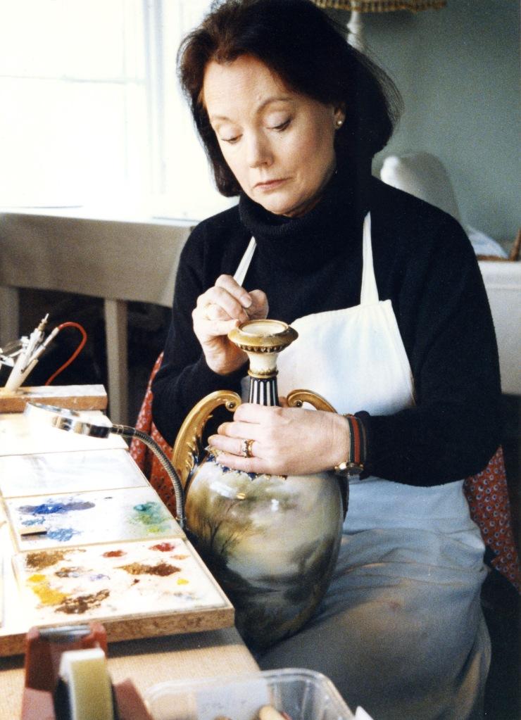 Anna Hackett at work 7