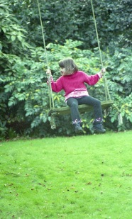 Flo on swing 2002 1